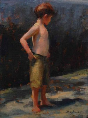 Select Sold Works: Marci Oleszkiewicz - Little Boy