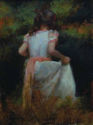 Select Sold Works: Marci Oleszkiewicz - Secret Garden