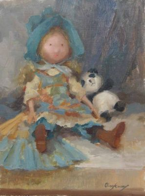 Select Sold Works: Marci Oleszkiewicz - Child′s Delight