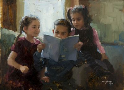 Select Sold Works: Marci Oleszkiewicz - The Story Teller