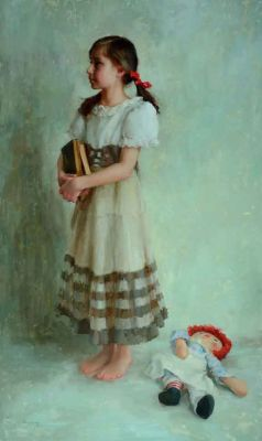 Select Sold Works: Marci Oleszkiewicz - A New Dress