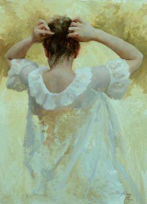 Select Sold Works: Marci Oleszkiewicz - Nightgown