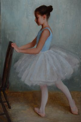 Select Sold Works: Marci Oleszkiewicz - Young Ballerina