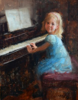 Select Sold Works: Marci Oleszkiewicz - Practice Time