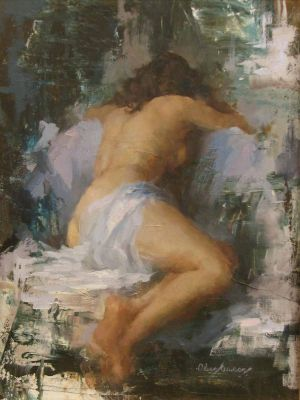Select Sold Works: Marci Oleszkiewicz - Nude