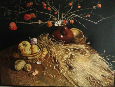 Artem Rogovoi - Still Life with Branches