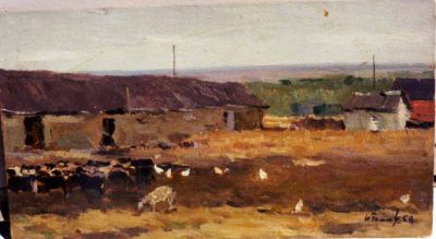 Sold Works: Nikolai Timkov - Farm