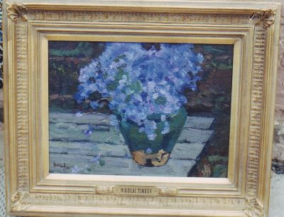 Sold Works: Nikolai Timkov - Lilacs