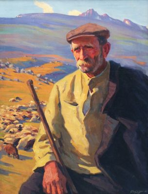 Gervasia Vartanyan - The Old Shepherd