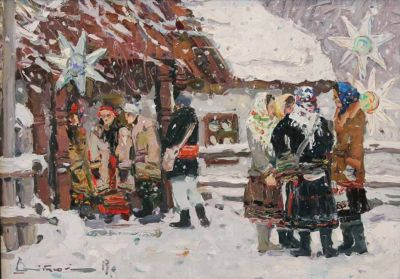 Select Sold Works: Ivan Vityuk - At the Celebration