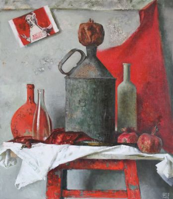 New Works - Still Life with Pomegranate
