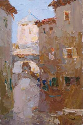 Click here to see selected sold works - In the Old City