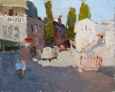 Click here to see selected sold works - In the Town in the South
