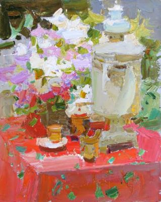 Click here to see selected sold works - Samovar