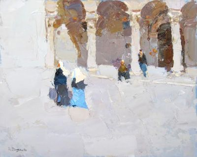 Click here to see selected sold works - Walking Nuns