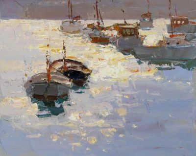 Click here to see selected sold works - Sun Specks of Light