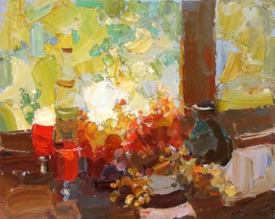 Click here to see selected sold works - Autumn Still Life