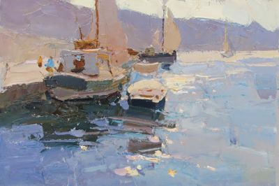 Click here to see selected sold works - Sailboats