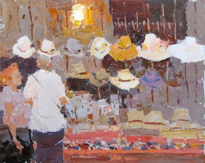 Click here to see selected sold works - That Hat is Not Bad!