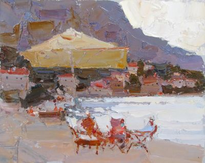 Click here to see selected sold works - At the Sea