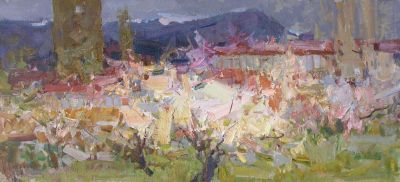 Click here to see selected sold works - Spring in Crimea