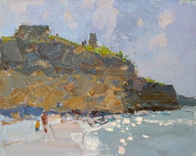 Click here to see selected sold works - Summer on the Beach