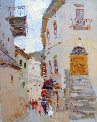 Click here to see selected sold works - Fairytale Town