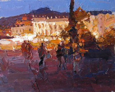 Click here to see selected sold works - Summer Evening