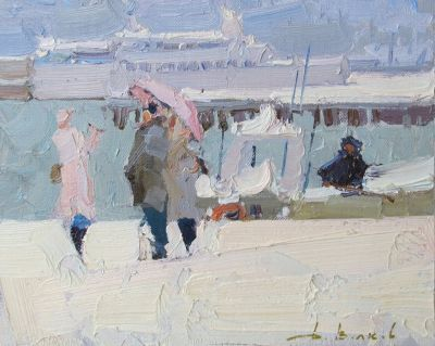 Click here to see selected sold works - Winter in Yalta