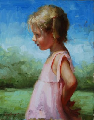 Select Sold Works: Marci Oleszkiewicz - Dreamer