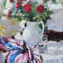 Olga Grigoryeva - Still Life with Red Roses