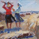 New Works - Girls in the Field